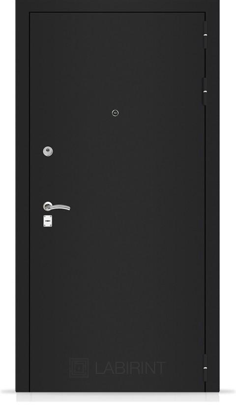 Входная дверь CLASSIC шагрень черная